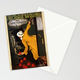 Vintage poster - Vitctoria Arduino Stationery Cards