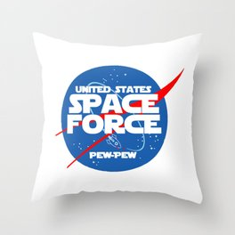 SPACE FORCE Throw Pillow