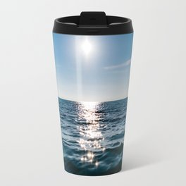 Marble Wave Sunshine Travel Mug