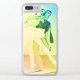 Pastel Ballet Clear iPhone Case