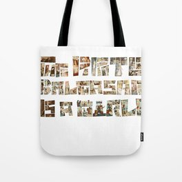 The Pirate Balthasar is a girl! Tote Bag