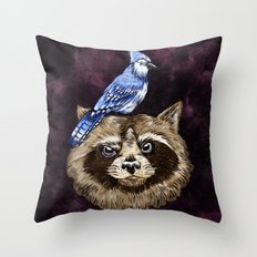 Mordo & Rigs Throw Pillow