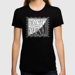 HAPPINESS HEALTH AND ENERGY = GENKI T-shirt