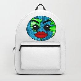 Vibrant Planet Earth Diva Backpack