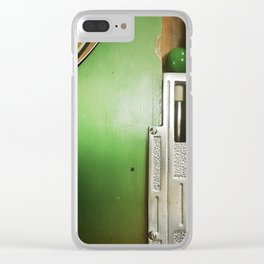 Straight Shooter Clear iPhone Case