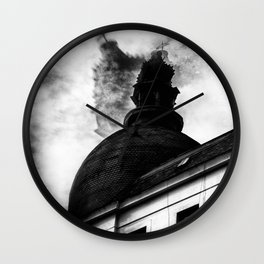 the cold wind Wall Clock