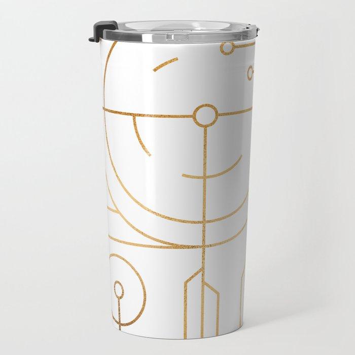Awaited Embrace Travel Mug