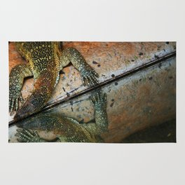 Reflecting Lizard Rug