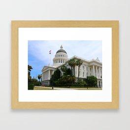 California State Capitol Framed Art Print