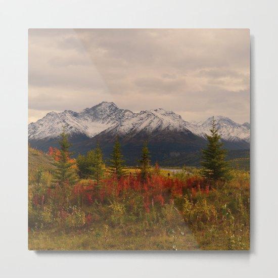 Seasons Turning Metal Print