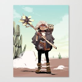Desert Rose Witchsona Canvas Print