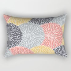 Flower Infusion Rectangular Pillow