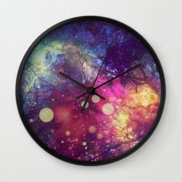 The Universe Behind Wall Clock