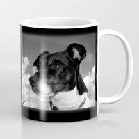 best friend Mugs featuring My best friend by Karl-Heinz Lüpke