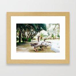Get In Formation Framed Art Print