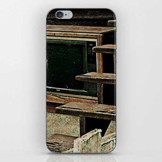 Television Is Not Real Life iPhone & iPod Skin