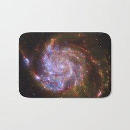 Spiral Galaxy Messier 101 Bath Mat
