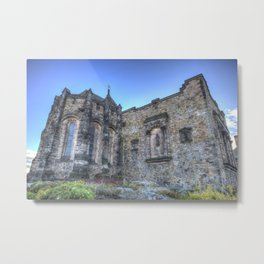 St Margaret's Chapel Edinburgh Castle Metal Print