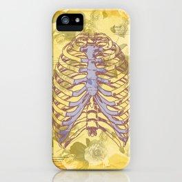 Os et des fleurs iPhone Case