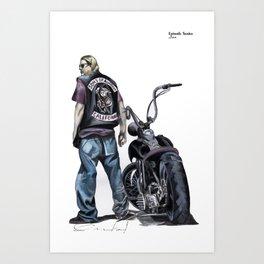 Jax Art Print