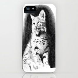 Bobcat iPhone Case