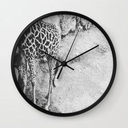 Half Giraffe  Wall Clock