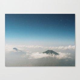 Two Mountains Canvas Print