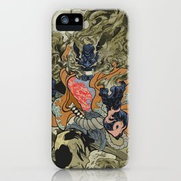 Fire God iPhone Case