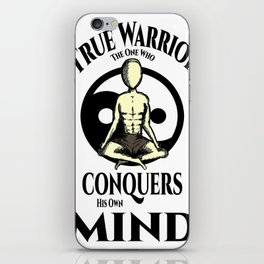 Conquer Your Mind iPhone Skin