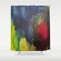 broken Shower Curtains featuring Broken by Benito Sarnelli