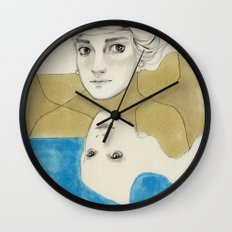 Earth Water and Wind! Wall Clock