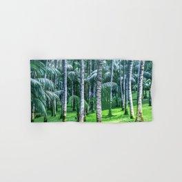 Coconut Trees Artwork Hand & Bath Towel