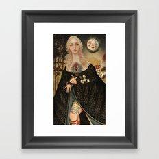 Fairytales and Tattoos  Framed Art Print