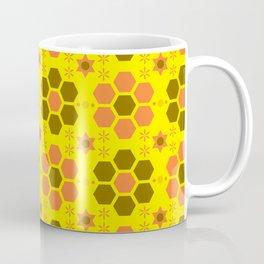retro beehive pattern Coffee Mug