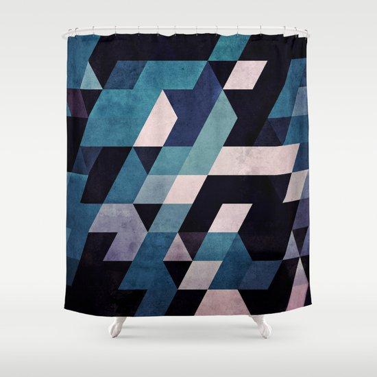 blux redux Shower Curtain
