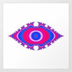 Pink Eye Art Print