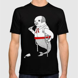 On the merman's propensity towards intemperance, pugnacity, and adultery T-shirt