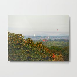 Autumn Hot Air Balloon (2) Metal Print