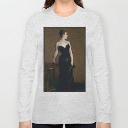 John Singer Sargent - Madame X (Madame Pierre Gautreau) Long Sleeve T-shirt