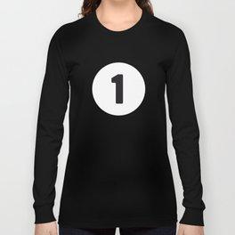 Ball 1 Billiard Long Sleeve T-shirt