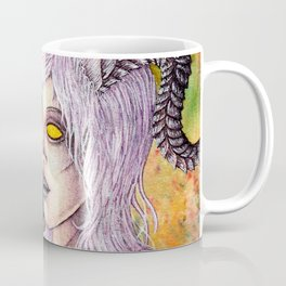 Lightforged Draenei Female Priest Portrait Coffee Mug