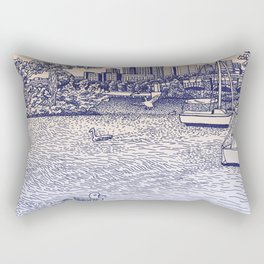 Charles River Esplanade Rectangular Pillow