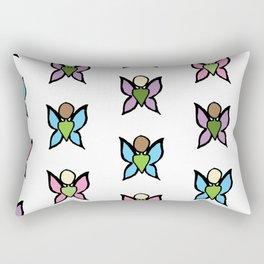 Wall of Fairies Rectangular Pillow