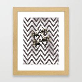 Mystic wardance Framed Art Print