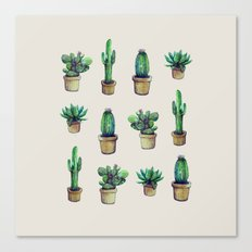 cactus original Canvas Print