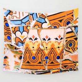 Gaudi Series - Parc Güell No. 4 Wall Tapestry