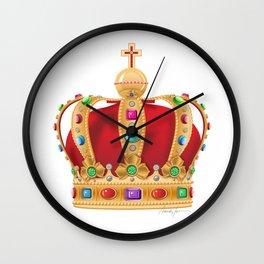 Crowning Wall Clock
