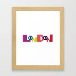 London 5 Framed Art Print
