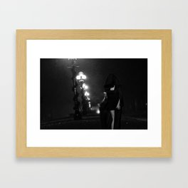 Ever Dance with the Devil in the Pale Moon Light? Framed Art Print