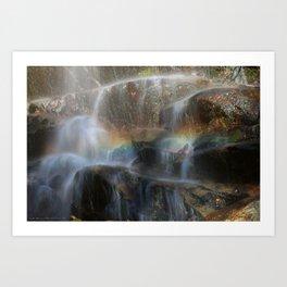 Rock Rainbow Art Print